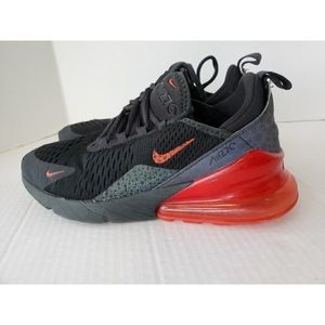 Nike Air Max 270 Sneakers Black with Red